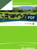 2016 Farm Systems Change Dairy Farm Case Study Otago