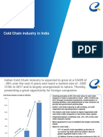 Cold Chain Industry in India