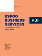 Espoo Business Services - Towards A Client-Centered Service Offering