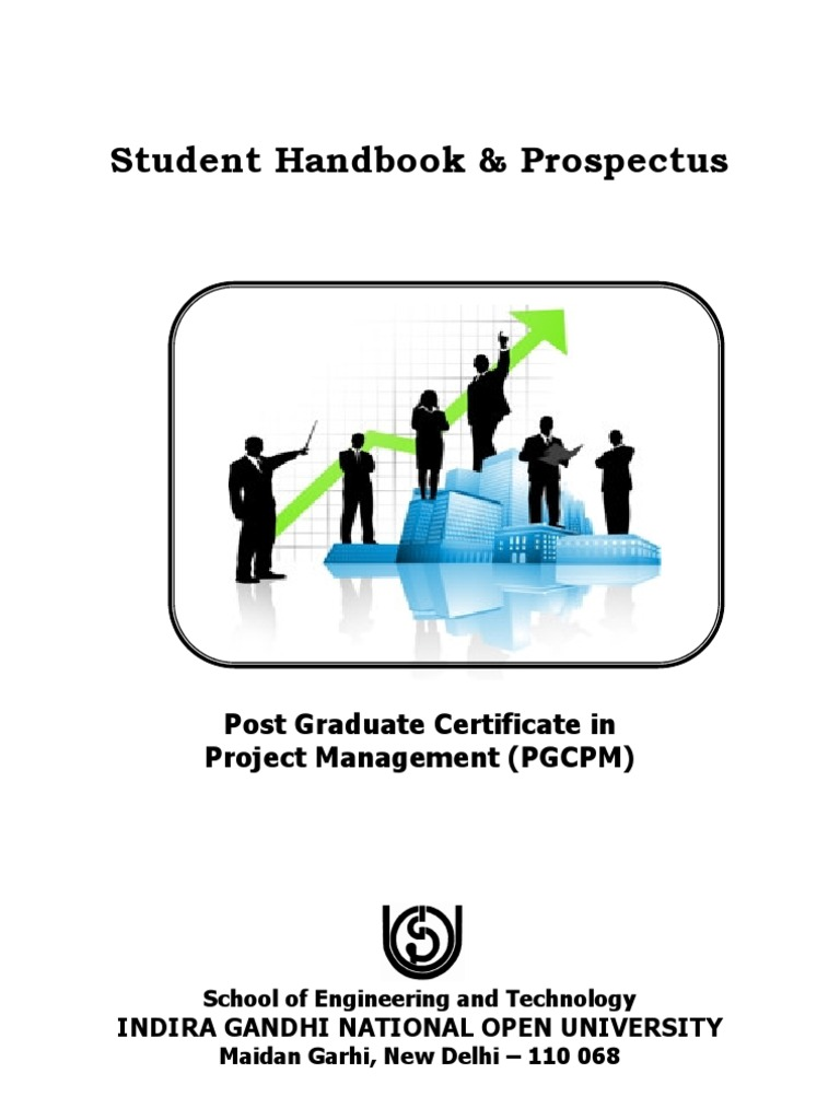 Student Hand Book Prospectus Academic Degree Project Management