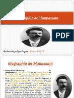 Biographie de Maupassant Korea