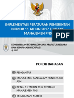Slide PP 11 Manajemen PNS