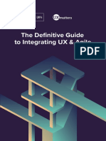 The Definitive Guide to Integrating UX & Agile