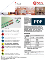 Elephant Gypsum Boards Specification - Moistbloc Board