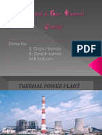 Thermal & Geothermal Energy