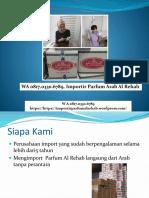 WA 0817.0330.6789 Importir parfum al rehab sultan Kirim ke Singaraja
