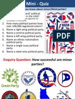 3. Minor Parties