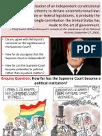 9. Political or Judicial Institution 1