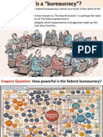 5. Federal Bureaucracy