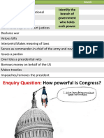 10. Congressional Power