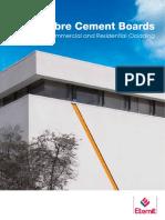 cement board brochure