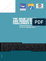 Arab League Human Rights Challenges