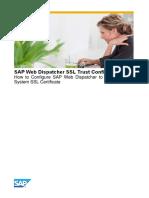 Web Dispatcher Ssl Trust Configuration