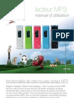 Samsung YP-U3! lecteur MP3 manuel d'utilisation