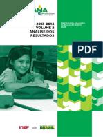 Relatório ANA 2013-2014 - Análise Dos Resultados