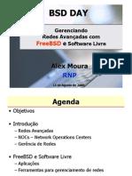 Gerência de Redes Avançadas com FreeBSD