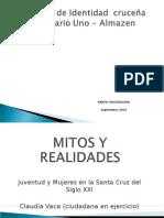 Mitos y Realidades - Claudia Vaca