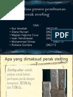 Diagram Fasa Proses Pembuatan Perak Sterling