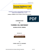 Refinery Business Plan