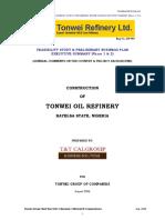 Refinery Business Plan