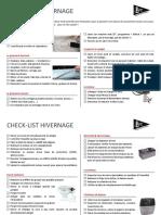 Checklist Hivernage