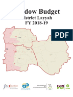 District Layyah Shadow Budget FY 2018-19