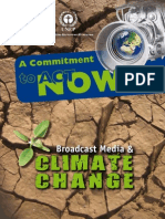 Broadcast Media and Climate Change