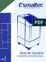Manual Da Maquina de Lavar Esmatec