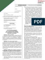Ley de fortalecimiento de la Contraloría General de la República y del Sistema Nacional de Control