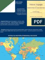 Statele Şi Grupările Regionale de State