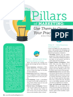 The 4 Pillars of Marketing Use Them to Grow Your Practice - Professional Services Marketing, LLC