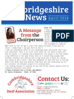 CDA Newsletter April 2018