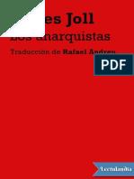 Los Anarquistas - James Joll