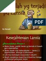 Masalah Pd LANSIA