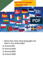 ED Languages pp 7, 8, 9 th