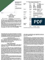 notice sheet 1st april 2018