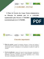 TEXTO BASE 01. Plano de Carreira Dos Cargos Técnico-Administrativos Em Educação