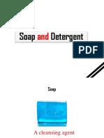 Detergent(Group 1,2)
