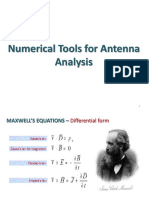 Numerical Tool for Antenna Analysis