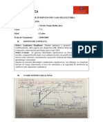 Vicente Rubio 7°C PLAN DE INTERVENCIÓN CASO TRAYECTORIA