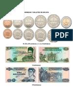 Monedas y Billetes de Bolivia