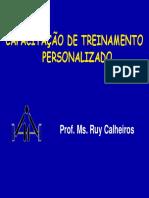 Capacitação de Treinamento Personalizado - Ruy Calheiros