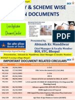 Facility & Scheme Wise Loan Documents