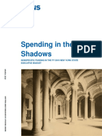 Citizens Union - Spending in the Shadows - Nonspecific Funding in the FY 19 NYS Executive Budget