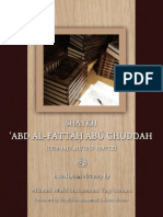 Biography of Sheikh Abdul-Fattaaḥ Abu Ghuddah RA by Mufti Taqi DB