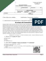 Evaluación Síntesis Tercer Trimestre Historia - Ed
