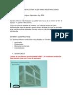 Tecnicas Constructivas de Sistemas Industrializados