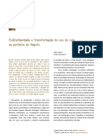 (Sub)Urbanidade e Transformação Do Uso Do Solo Na Periferia de Maputo