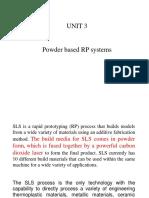 Unit 3 Powder Based Rp Process