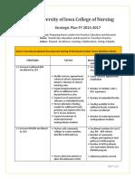 الخطة الاستراتيجية كلية التمريض